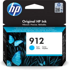 HP 912 Cyan Original Ink Cr