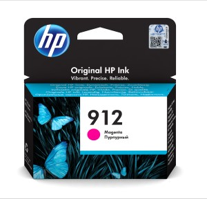HP 912 Magenta Original Ink Cr