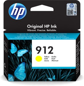 HP 912 Yellow Original Ink Cr
