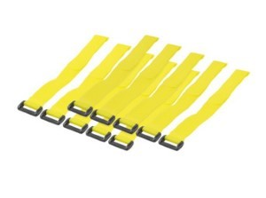 CABLE TIE WITH VELCRO 10PCS - 20x300MM