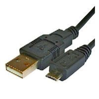USB CABLE USB A TO MINI/MICRO USB B 2M